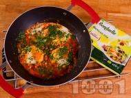 Пържени яйца по мексикански